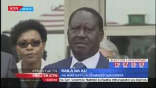 Raila na AU : Raila akutana na wajumbea la AU
