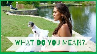 Justin Bieber  What Do You Mean COVER By Gina Naomi Baez & Tinkerbelle The Dog