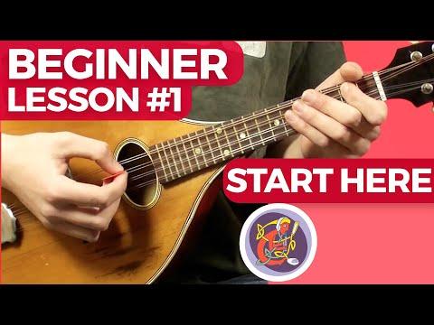 Irish Mandolin Lesson [The Basics] Start Today (Pro Tutor)