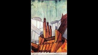 Futurism (conceptual Architecture). Art Of Building The Future.