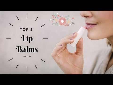 Top 5 Lip Balms For Dry Lips In India | Which is the best lip Balm ||beautyvlog