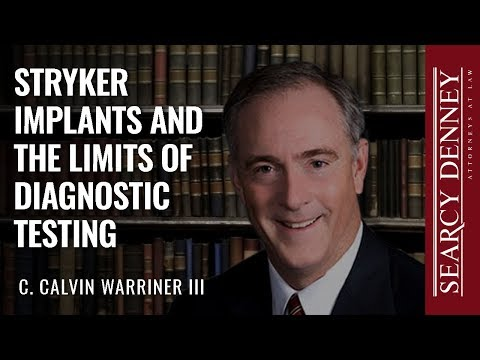 Stryker Implants and the Limits of Diagnostic Testing