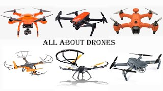 Different Types Of Drones | Different Models Of Drones | Drone Technology | All About Drones ????