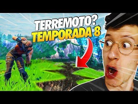 TERREMOTO?! RUMORES SOBRE A TEMPORADA 8 - FORTNITE