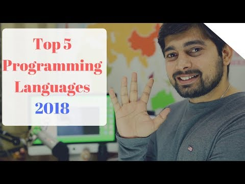 Top 5 Programming Languages to learn in 2018