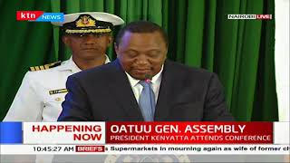 President Kenyatta's speech at 42nd OATUU General Assembly