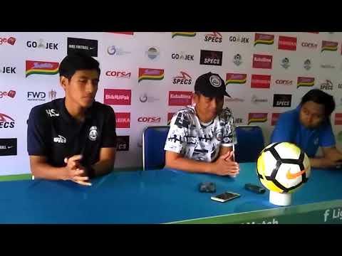 PRESSCON PRE-MATCH LIGA 1: Arema FC vs PSM Makassar