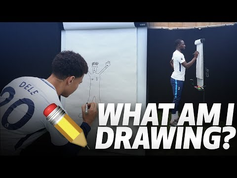 ✏️ WHAT AM I DRAWING? | ft. DELE ALLI SERGE AURIER MOUSSA SISSOKO AND JUAN FOYTH