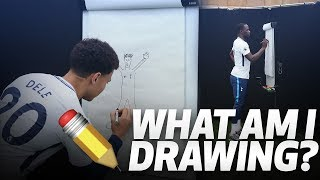 ✏️ WHAT AM I DRAWING?   ft. DELE ALLI SERGE AURIER MOUSSA SISSOKO AND JUAN FOYTH