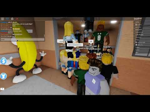 Playing An Elevator Game With Pan! // Roblox
