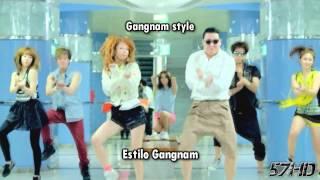 PSY, Maroon 5 & Minaj - Moves Like Gangnam Starships HD Video Subtitulado Español Lyrics