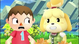 Isabelle  - (Animal Crossing) - Isabelle for Smash (unexpected)