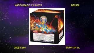 Match Magic BP2556 Brothers Pyrotechnics by Red Apple Fireworks