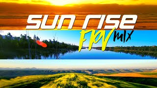 A mix of sun rise FPV flights over Southern California, in 4k фото