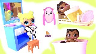 LOL SURPRISE DOLL MORNING and EVENING ROUTINE. VIDEO FOR KIDS 1 hour // My Toys Pink