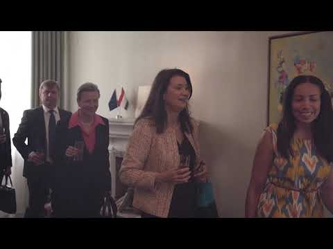 Visit of H.E. Ann Linde, Foreign Minister of Sweden to the EU Delegation in Tajikistan