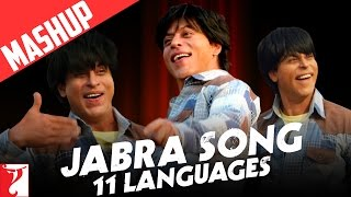 Mashup: Jabra Song | 11 Languages | FAN Anthem | Shah Rukh Khan