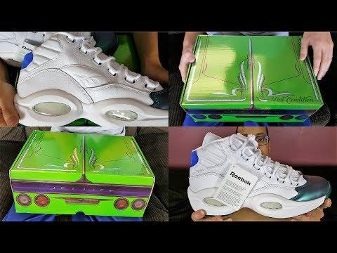 Shoes With A Secret Stash Pocket! Reebok Question Mid x Curren$y Jet Life Review!