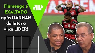 Mengão é exaltado após virar líder do Brasileiro