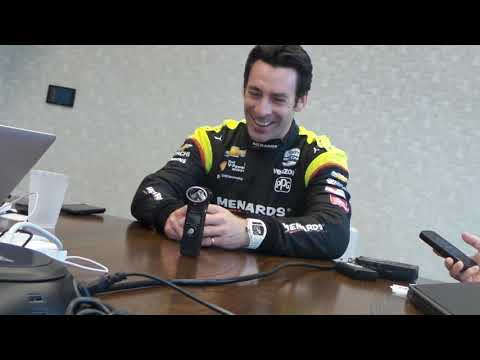 Q&A with IndyCar driver Simon Pagenaud