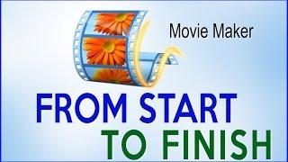 How to Make a Movie on Windows Movie Maker