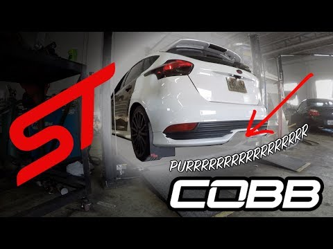 The COBB Catback Exhaust For The 13-16 Focus ST w/ Sounds