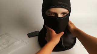 Review On Rockbros Mens Face Mask Balaclava For Mountain Bike, Skiing.