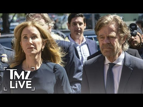 New Video Of Felicity Huffman In Jail | TMZ Live