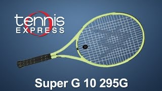 Volkl Super G 10 295 Racquet video