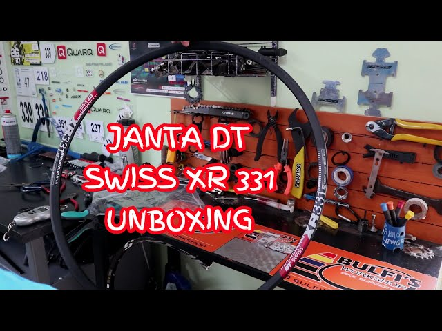 Видео Обод DT Swiss XR 331 29x20 DISK BRAKE 32