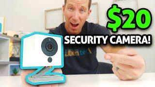 Amazing $20 Security Camera!! (Wyze Cam 2)