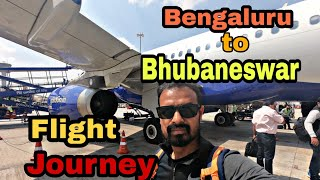 Kempegowda International Airport  Bengaluru ✈ Bhubaneswar | Indigo flight Journey | Airport Louge