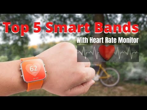 Top 5 Cheapest Smart bBands With Heart Rate Monitor