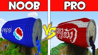 Minecraft - NOOB vs PRO : PEPSI vs COCA COLA in Minecraft ! AVM SHORTS Animation