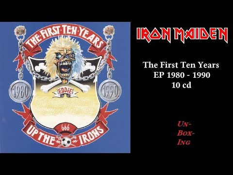 IRON MAIDEN BOX 10 CD THE FIRST TEN YEARS