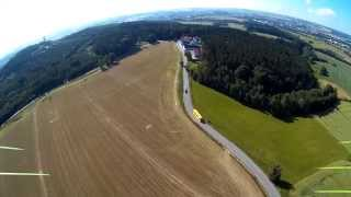 2.4 km long range FPV flight with mini quad