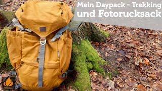 Der Steinkauz Waxmann - Daypack, Trekking- und Fotorucksack   Bushcraft Outdoor Rucksack