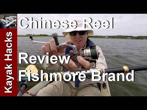 Cheap Chinese Fishing Reel Review – Fishmore Spinning Reel – Liveliner or Baitrunner model