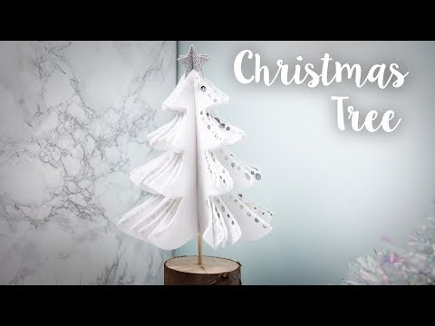 How to Make a Felt Christmas Tree - Sizzix