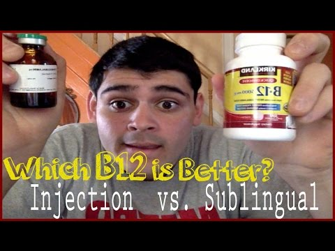 Video Which B12 is Better?: Injection vs. Sublingual