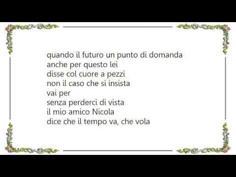 Eros Ramazzotti - Senza Perderci Di Vista Lyrics