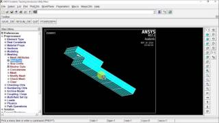 Scalar parameters 01 ANSYS APDL series - hmong video