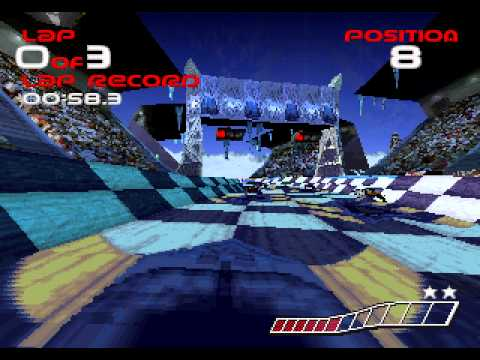 wipeout saturn vs. ps1
