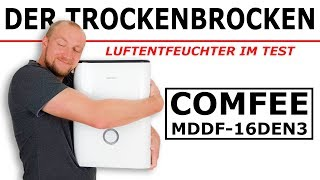 Luftentfeuchter Test ► Comfee MDDF-16DEN3 ✅ Der TROCKENBROCKEN aus der Nähe | produktrakete.de