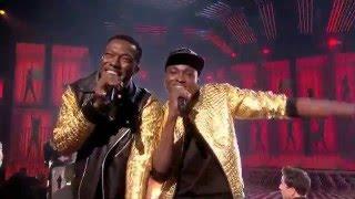 The X Factor UK 2015 Reggie 'N' Bollie take on R City and Adam Levine's hit Locked Away