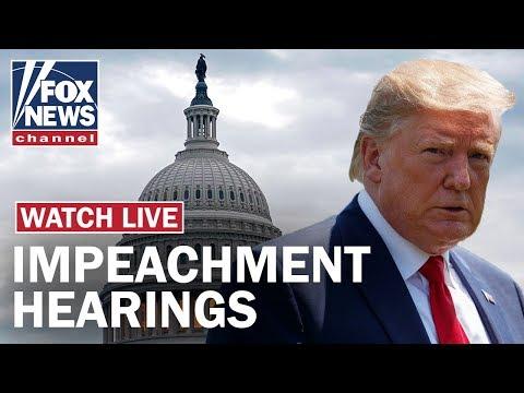 Fox News Live: Trump impeachment hearing Day 4