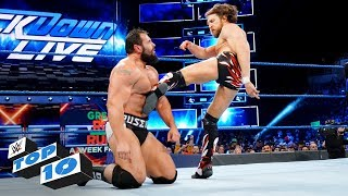 Top 10 SmackDown LIVE moments: WWE Top 10, April 17, 2018 - Video Youtube