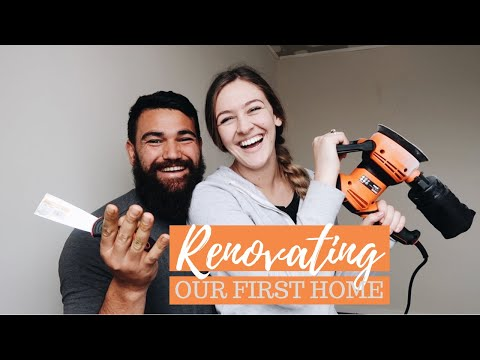 WE BOUGHT OUR FIRST HOME! | Renovation Vlog 1