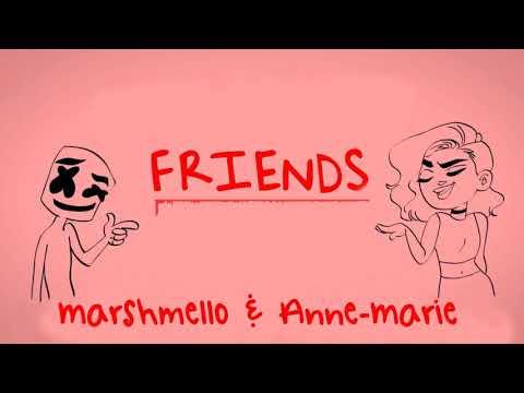 Marshmello & Anne-Marie - FRIENDS (Instrumental)
