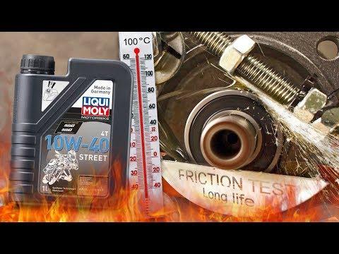 Liqui Moly Street 4T 10W40 Jak skutecznie olej chroni silnik? 100°C